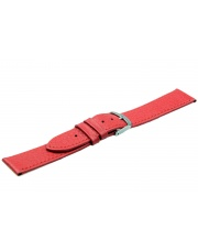 Pasek do zegarka Turin - czerwony