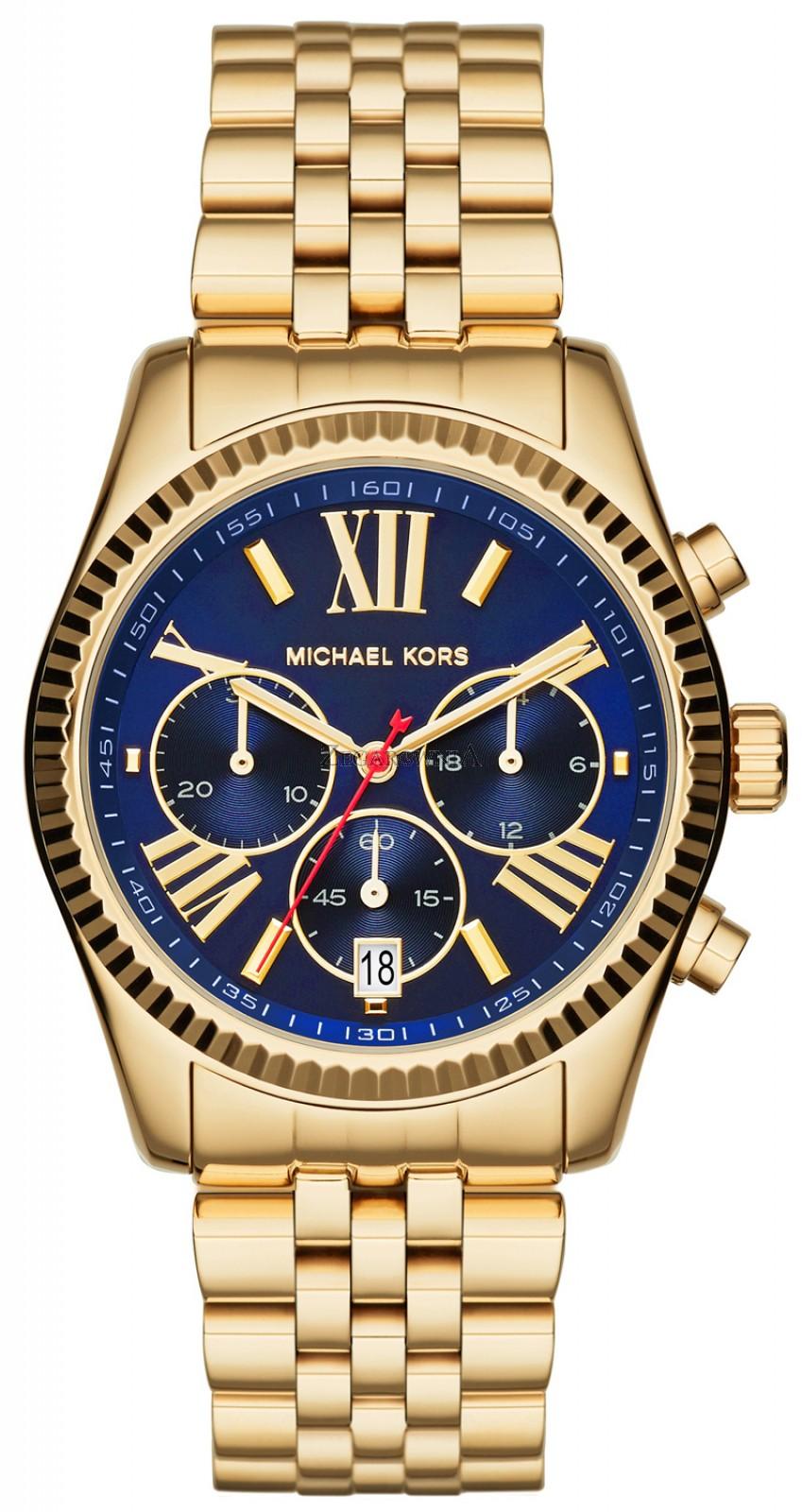 MICHAEL KORS LEXINGTON MK6206 GOLD