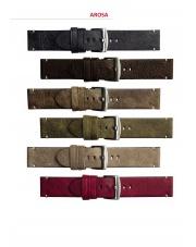 Pasek do zegarka AROSA skóra cielęca 20 22 24 mm